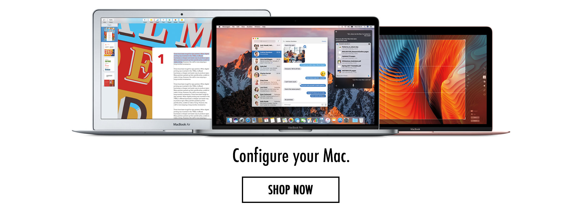 Configure your Mac